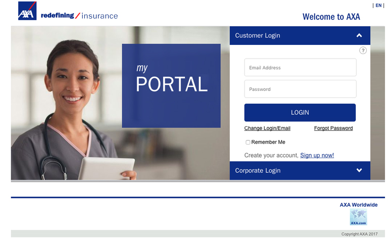 <h2>SharePoint Corporate Portal – AXA Brussels</h2>