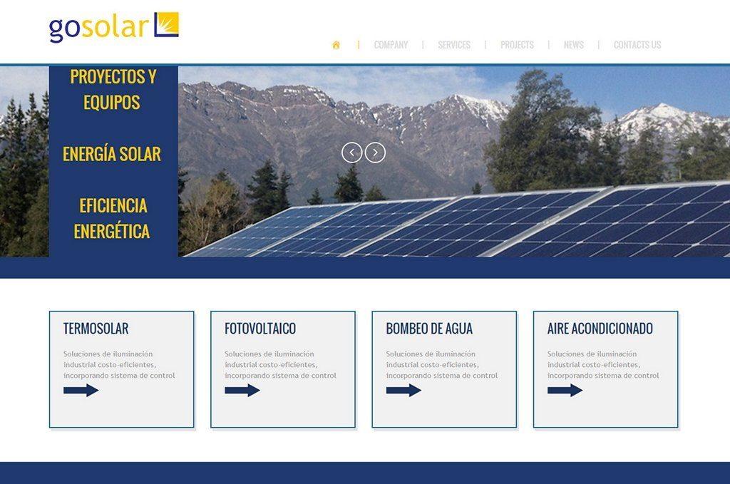 <h2>Energía del Sol Sitio Web</h2>