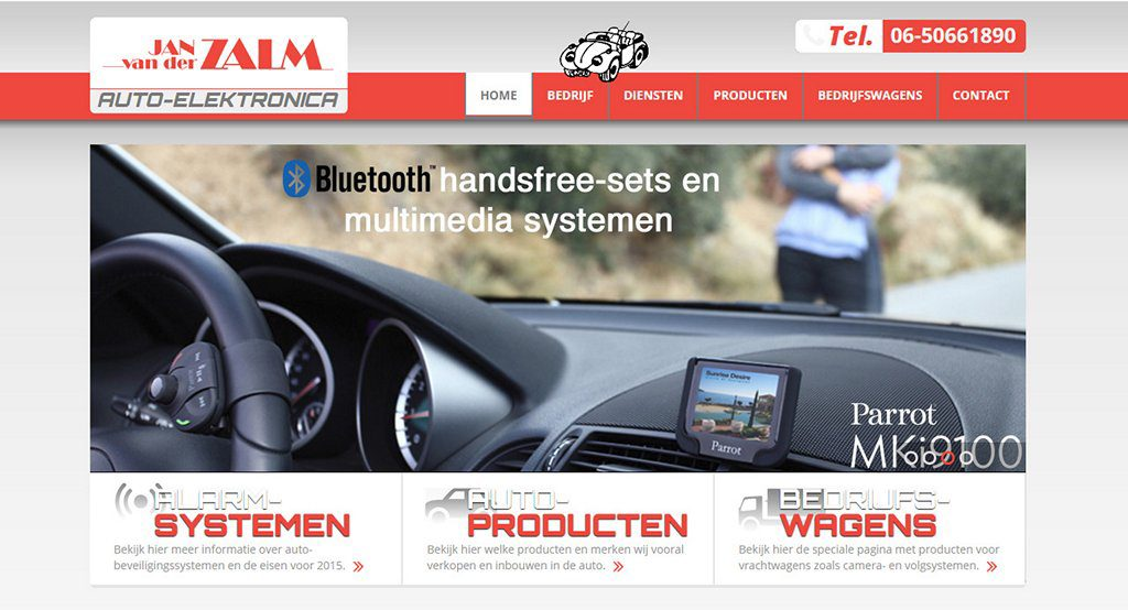 <h2>Car Electronics Website</h2>