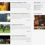 <h2>Página web de la Asociación Deportiva</h2>