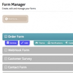 2. Manage the form in the Admin